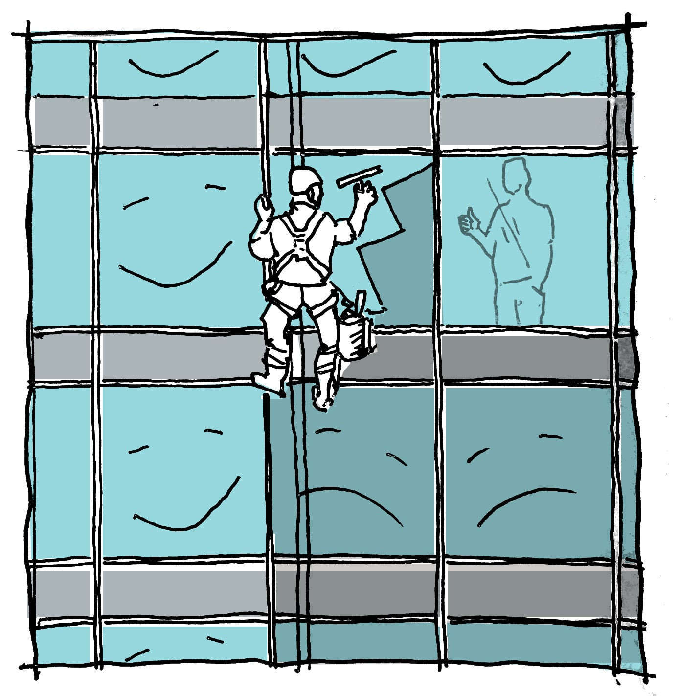 High Window washer
