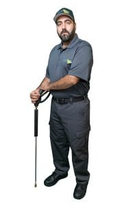 Pressure washing, power washing crew leader Vancouver and Richmond